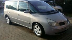 Espace 2.2 dci privlage 7 seats manual 6 speed