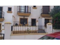 SPANISH 2 BED TOWNHOUSE FOR SALE OR SWAP IN EL PINAR DE CAMPOVERDE 20 MINS FROM MURCIA AIRPORT