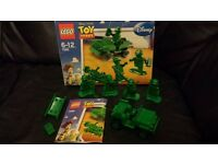 Lego 7595. Toy Story Army Men. built not played with. kept in box.