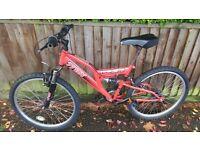 """Red push bike 24"""""""