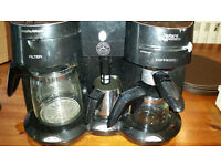 MORPHY RICHARDS MISTER CAPPUCINO ESPRESSO AND FILTER coffee maker machine