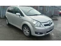 2009 Toyota Corolla Verso 1.6 petrol 5 door 7 seater salvage spares or repairs