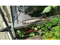 Swordsman petrol mower