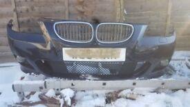 BMW 5 SERIES - MSPORT - FRONT BUMPER - E60 E61 - COMPLETE