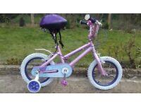KIDS GIRLS CHILDREN DISNEY 14 INCH WHEEL AGES 3-6 BIKE BICYCLE
