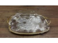 Decorative and special occasion serving tray