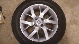 Nissan note Acenta wheels pair