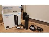 External hard drive 3Tb