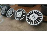 GENUINE MK1 SEAT CUPRA ALLOY WHEELS 16 5x100""