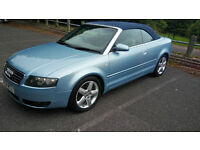 Audi A4 Cabrio 1.8 T with LPG conversion