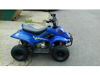 Quad bike 90cc automatic,;suit 6-13 years, great runner