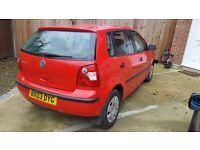2003 VW POLO 1,2 PETROL,ONLY DONE 38,000MILES ,VERY GOOD CONDIION