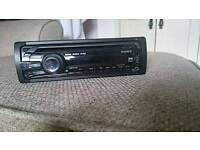 Sony car cd player / radio