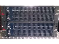 DBX 1231 Graphic Equalizers two units for sale