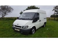 FORD TRANSIT 280 / SWB / SEMI HIGH ROOF / 12 MONTHS M.O.T