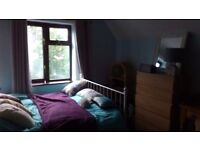 Light and airy double bedroom in beautiful rural location