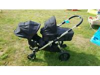 City jogger select double with buggy board
