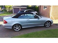 Mercedes Benz CLK200K Sport Convertible. Full leather interior. Immaculate condition.