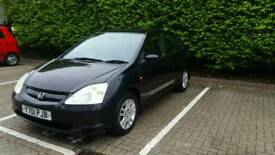 Honda Civic Automatic 5 door Black Executive Leather Delivery Pissible