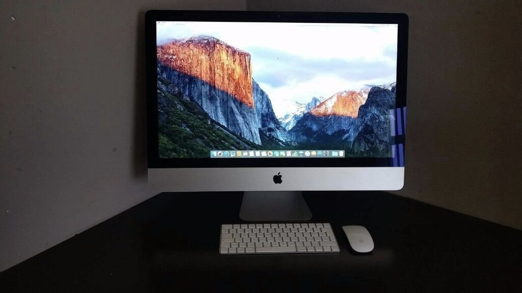 Apple Imac 27 inch 5K Retina displayin Stanley, County DurhamGumtree - LOOKING FOR QUICK SALE Upgraded Apple Imac 27 inch Retina 5k display ( full specs on packaging in pictures) Originally purchased in April 2016 for £1449.00 selling due to upgrade. Screen kept in immaculate condition and been looked after with care...