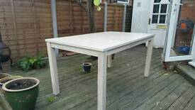 Dining table 150Lx90Wx76H