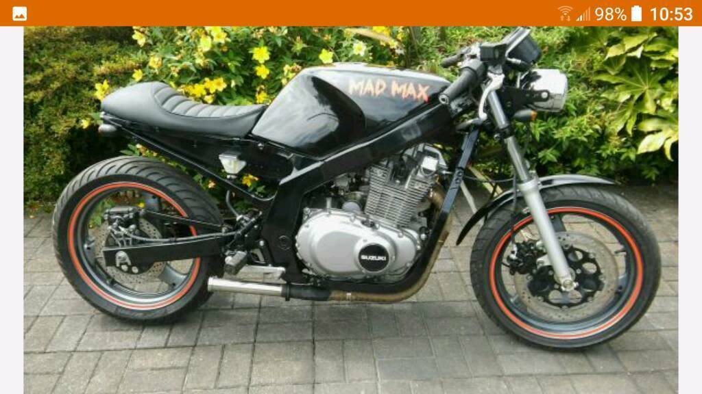 suzuki gs500 cafe racer in ystradgynlais swansea gumtree. Black Bedroom Furniture Sets. Home Design Ideas