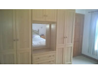 wardrobe dresser and chest of drawers