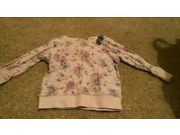 Next floral jumper 12-18 months