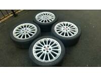 "Jaguar s type 18"" alloys Wheels sport BBS. Fits ford"