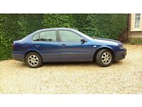Seat toledo 2002, 1.9 TDI, long MOT,taxed, ready to drive