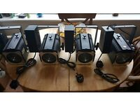 4 x Stage /Theatre/Wedding lighting with 4 ballast (150W) (Very Good Condition )