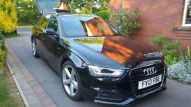 Audi A4 Avant 1.8 TFSI S Line Mint condition FSH Sat Nav Bluetooth