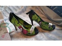 Iron Fist Zombie Open Toe Heels