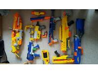 Nerf guns and ammo