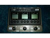 Zoom G3 Multi Effects and Amp sim pedal