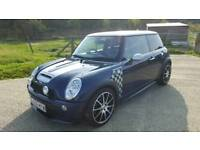 VERY HIGH SPEC MINI COOPER S 2006 SUPERCHARGED 240 BHP