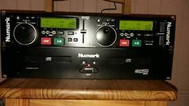 Newmark twin cd with mixer