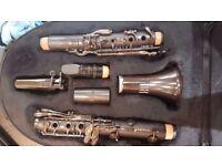 B flat clarinet - Leblanc Backun Bliss model LB210 full Grenadilla wood