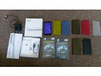 Sony Xperia Z3C Z3 Compact + Screen protector + ultra thin case