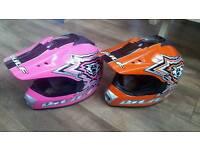 Kids motocross helmets