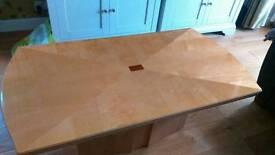 High gloss coffee table