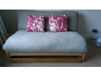 Double Futon with Storage Drawer