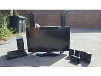 Samsung TV with Surround Sound
