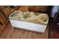 Reupholstery Project Blanket Box