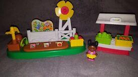 Little People® Farm Growing Farm Garden & Stand