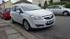 Vauxhall Corsa 2014 model,12 months MOT,only covered 41K millage