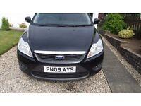 black ford focus style tdci 1.6 diesel 40000mls