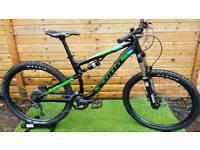 Kona precept 130 full suspension mountain bike hardtail full suspension