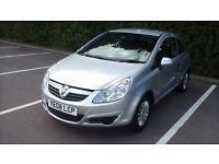 Vauxhall corsa 1.0 i 12v Life 3dr 2008 (HPI CLEAR)