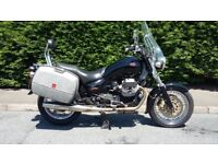 Moto Guzzi California Stone 1100i 2003 80th Anniversary model, black 30000 miles
